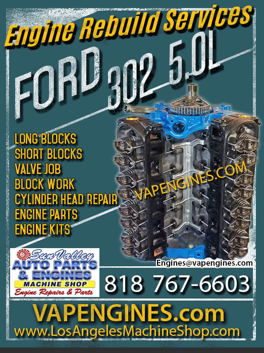 Ford 302 Engine Rebuild Shop