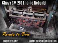 GM 216 engine block bore