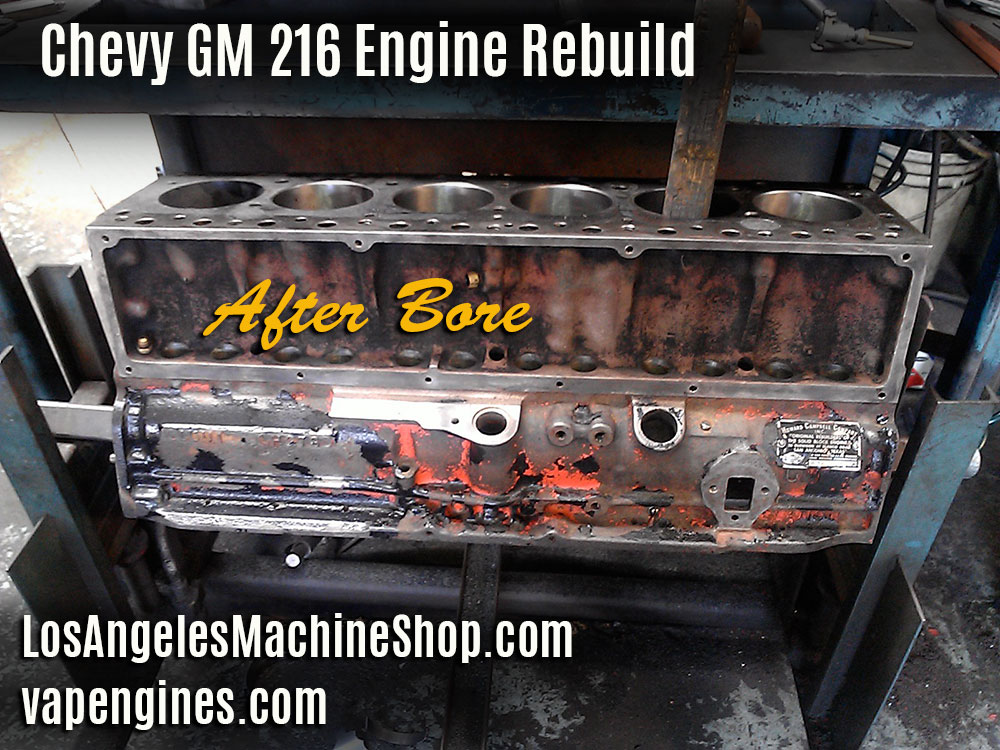 rebuilding chevy 216 engine