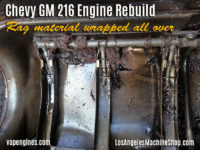 GM 216 oil pan with cog