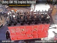 Chevy GM 216 Engine Rebuild Shop- Final assembly