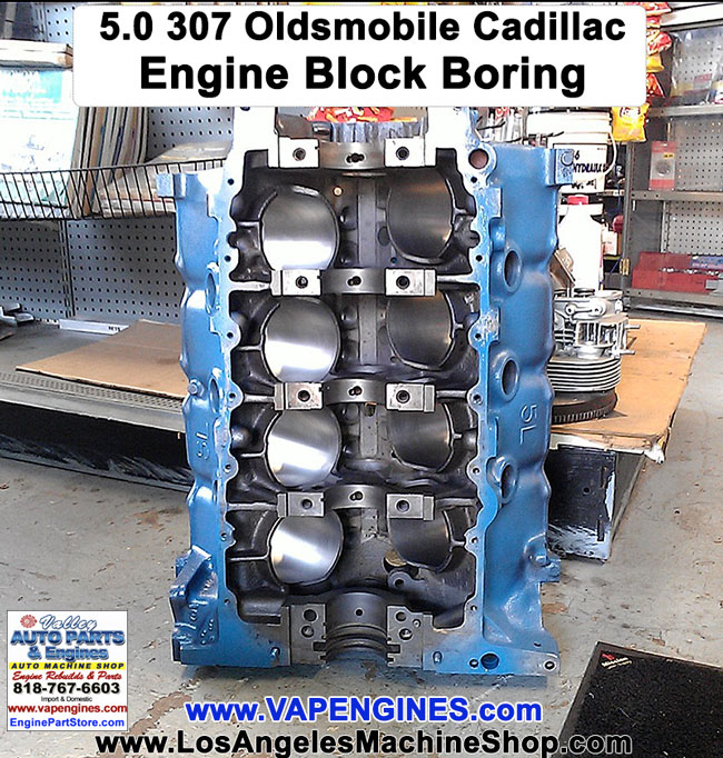 Bore Hone Engine Blocks Los Angeles Machine Shop Engine