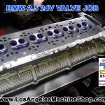 BMW 2.5 24v valve job