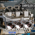 chrysler 3.7 valve job, cylinder head repair