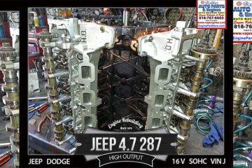 Jeep 4.7 V8 Engine HO VIN J