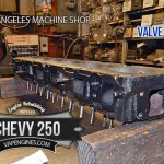 chevrolet 250 4.1 valve job cyinder head