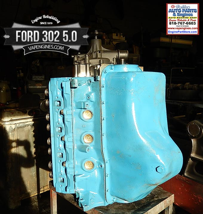 ford   remanufactured engine los angeles machine shop engine rebuilderauto parts store