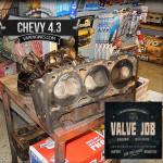 Chevy GM 4.3 valve job repair