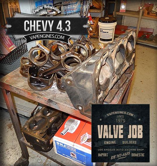 Los Angeles Machine Shop- Engine