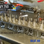Chevy GM 250 valve job work