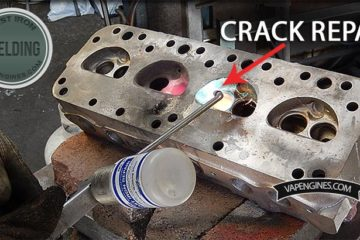 Forklift Cylinder Head Repair Welding