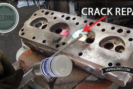 Forklift Cylinder Head Repair Welding
