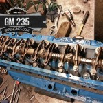 chevy gm 235 cylinder head assembly