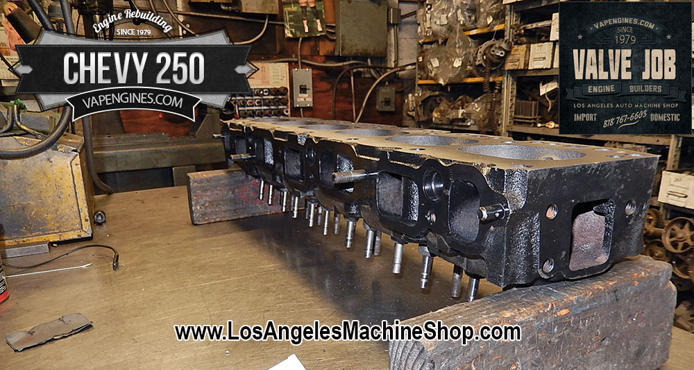 Gm Chevy Cylinder Head Repair Shop on Rebuilt Chevy 6 Cylinder Engines