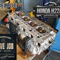Honda Prelude 2.2 H22A4 valve job