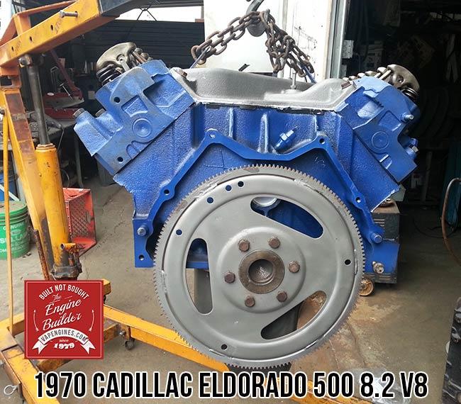 Cadillac Eldorado V Rebuilt Engine on 1970 Cadillac Engine 500