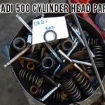 cadillac 500 cylinder head parts