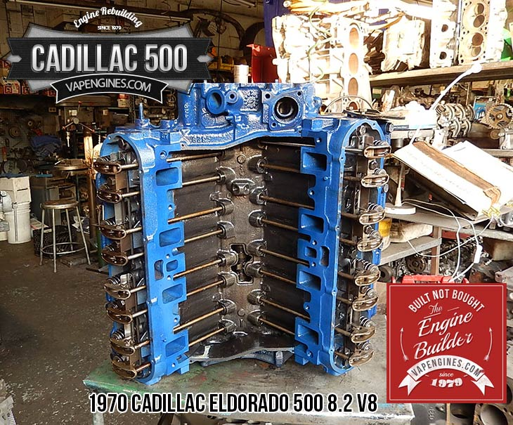 Remanufactured Cadillac Eldorado 500 8.2 V8 Engine - Los ...