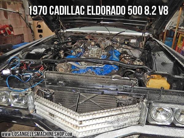 installed cadillac eldorado 500 8.2 engine