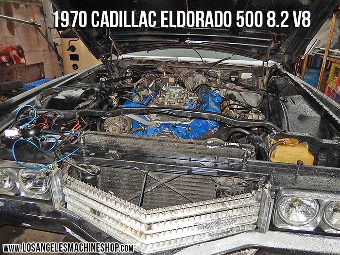 Cadillac Eldorado V Engine Install