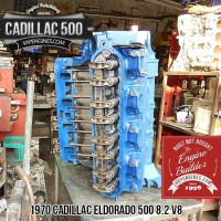 remanufactured cadillac 500 8.2 engine