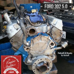 Ford 302 rebuilt remanufactured engine