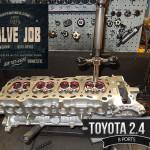 toyota 2.4/2.7 install seals/seats