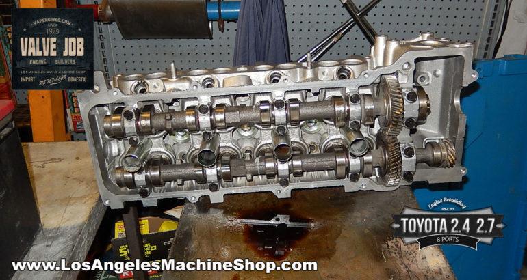 Toyota 2.4/2.7 cylinder head valve job