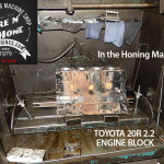 hone toyota 20r engine block