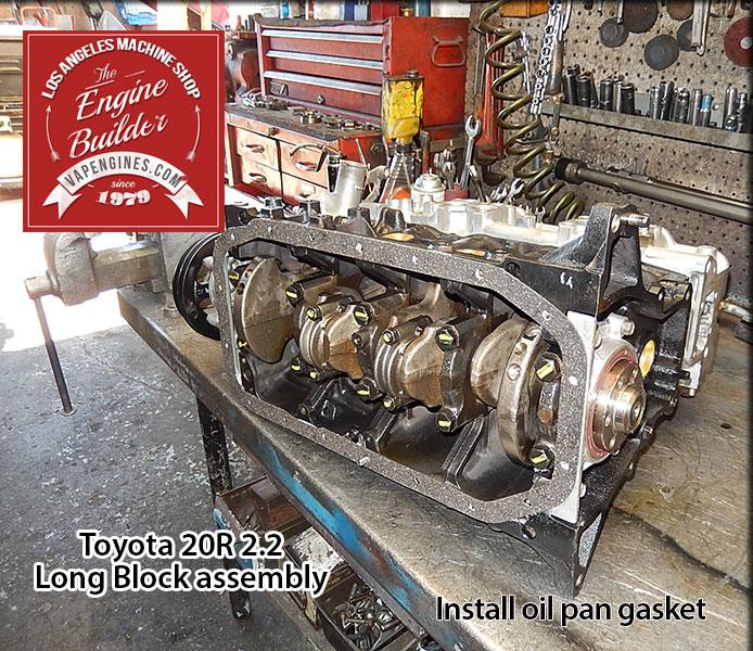 Toyota 20R 2 2 Remanufactured Engine - Los Angeles Machine Shop