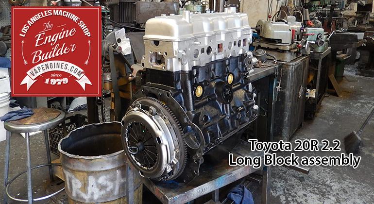 Engine Machine Shop >> Toyota 20r 2 2 Remanufactured Engine Los Angeles Machine