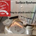 resurface toyota 20r flywhl