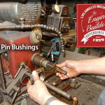 size pin bushing on rod