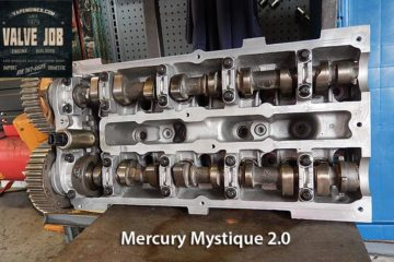 00 Mercury Mystique 2.0 Valve Job