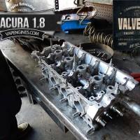 Acura Integra 1.8 cylinder head repair