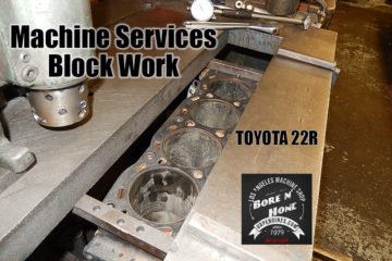 Toyota 22R Bore and Hone