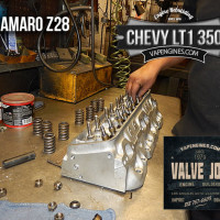 Valve job Camaro Z28 LT1 350 heads