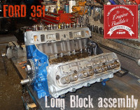 Ford 351 rebuilt engine