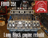 Ford 351 engine rebuilding