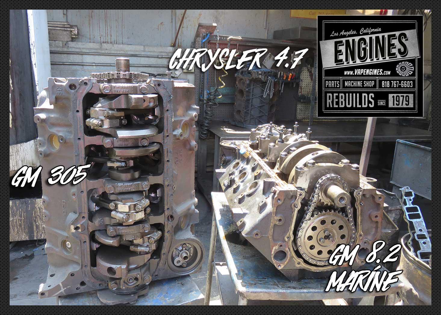 Los Angeles Engine Builder Machine Shop Los Angeles