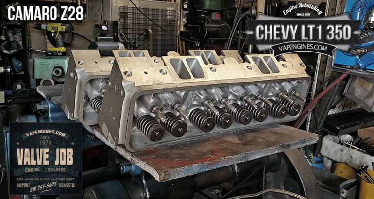 GM chevy 350 LT1 valve job