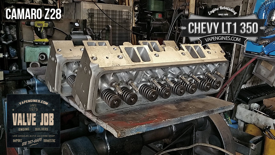 Chevy Camaro Z28 LT1 350 Valve Job - Los Angeles Machine ...