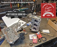 Mitsubishi minicab engine rebuild gasket and seals