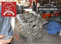 Mits minicab 3g81 engine block