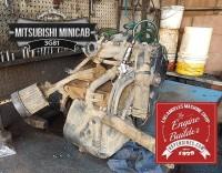 Mitsubishi Minicab 3G81 before rebuild