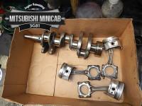 Mitsubishi minicab crank and pistons