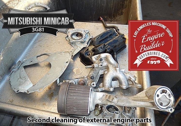 Mitsubishi Minicab 3G81 remanufactered Engine - Los Angeles