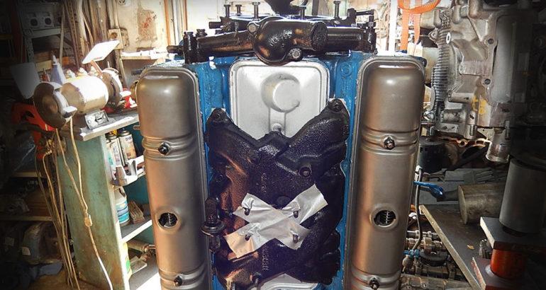 Rebuilt Buick 264 engine