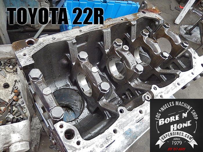 Toyota 22R Bore and Hone - Los Angeles Machine Shop- Engine