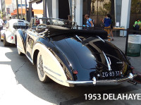 rear view of Delahaye